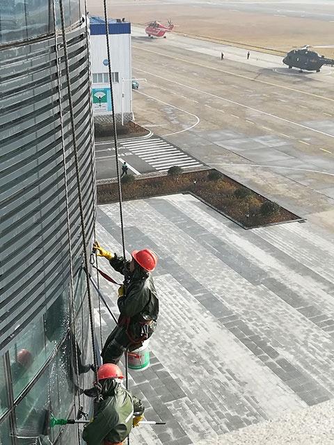 昌河机场 南昌高空蜘蛛人