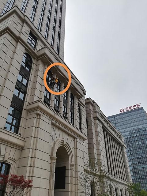 北京银行总部 南昌蜘蛛人